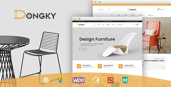 VG Dongky - Clean & Minimal WooCommerce WordPress Theme 1