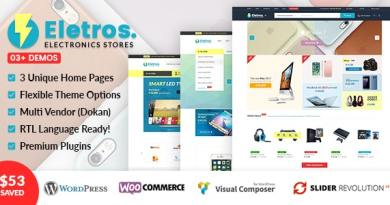 VG Eletros - Electronics Store WooCommerce Theme 3