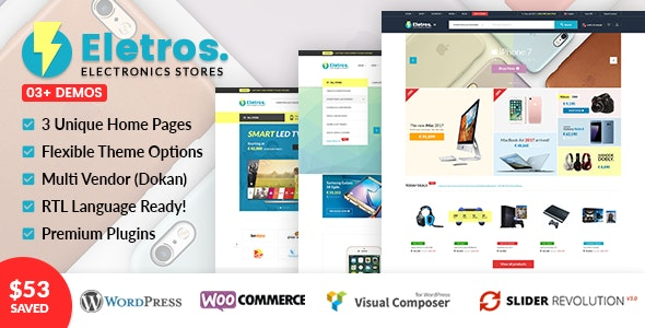 VG Eletros - Electronics Store WooCommerce Theme 1