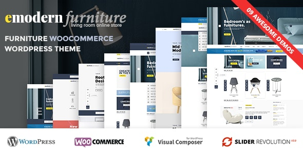 VG Emodern - Furniture Theme with 9 HomePages 2