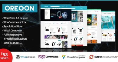 VG Oregon - Responsive WooCommerce WordPress Theme 3