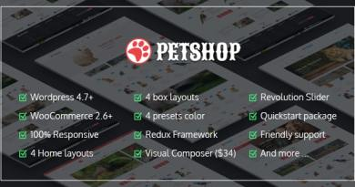 VG Petshop - Creative WooCommerce theme for Pets and Vets 3