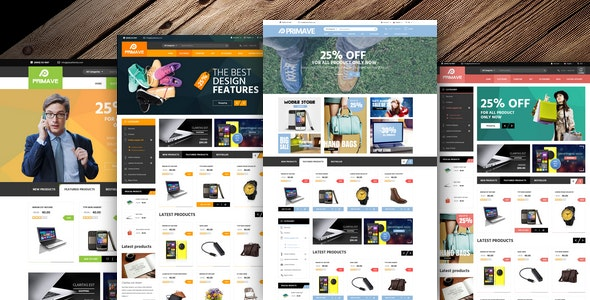 VG Primave - Multipurpose WooCommerce WordPress Theme 1