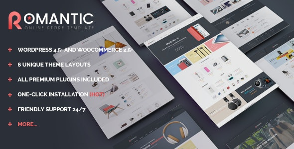 VG Romantic - Responsive Multipurpose WooCommerce Theme 16