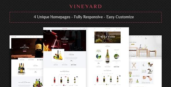 Vineyard - Wine Store Responsive WooCommerce WordPress Theme 2