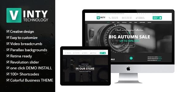 Vinty - WooCommerce Business WordPress Theme 25