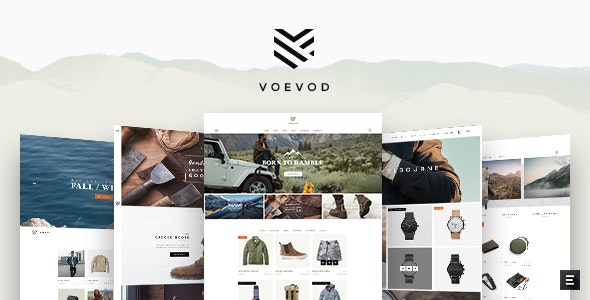 Voevod - WooCommerce Store 1