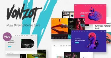 Vonzot - Music Oriented WooCommerce Theme 3