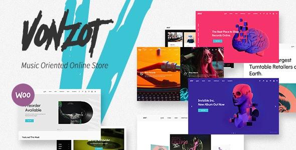Vonzot - Music Oriented WooCommerce Theme 1