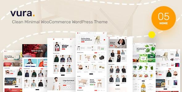 Vura - Clean Minimal WooCommerce WordPress Theme 6