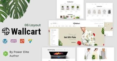 Wallcart - Multipurpose WooCommerce Theme 4
