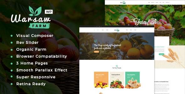 Warsaw - Organic Food & Eco Products WooCommerce WordPress Theme 4