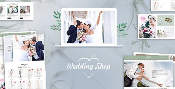 Wedding Shop | Love Paradise WooCommerce WordPress Theme 1