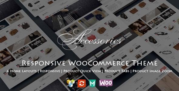 WooAccessories - Responsive WordPress Theme 3