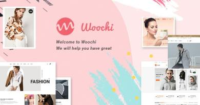 Woochi | Modern Fashion WooCommerce WordPress Theme 3