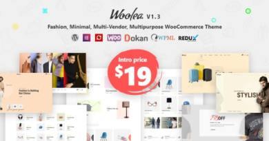 Woolea | Minimal WooCommerce Theme 42