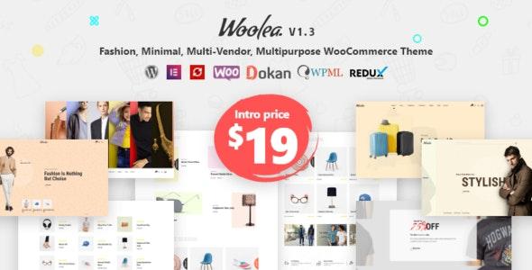 Woolea | Minimal WooCommerce Theme 13