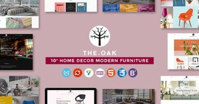 WordPress WooCommerce Theme for Furniture Decoration Design eCommerce Store | WP TheOak 3