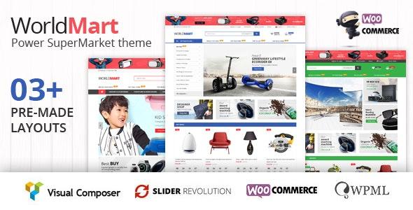 Worldmart - WooCommerce WordPress Theme ( RTL supported ) 1