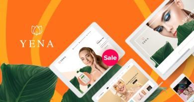 Yena – Beauty & Cosmetic WooCommerce Theme 4
