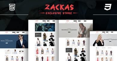 Zackas – Fashion WooCommerce WordPress Theme 3