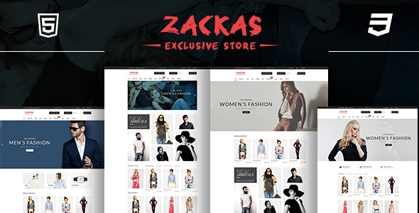 Zackas – Fashion WooCommerce WordPress Theme 1