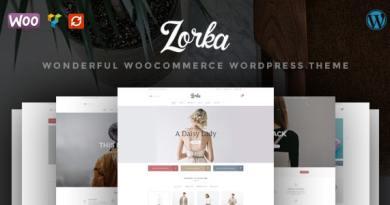 ZORKA – Wonderful Fashion WooCommerce Theme 4