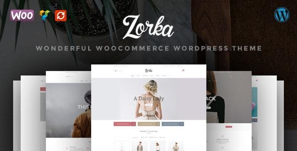 ZORKA – Wonderful Fashion WooCommerce Theme 1