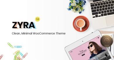 Zyra – Clean, Minimal WooCommerce Theme 3