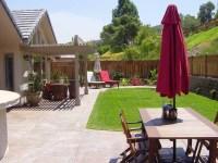 back yard design - mk landscape design