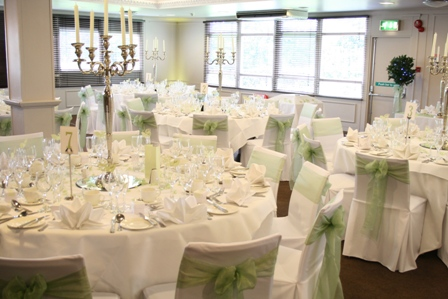 white barber chair uk metal with wood seat aston hall hotel wedding covers hire pretty chairs in sheffield yorkshire