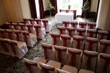 chair covers wedding yorkshire parson chairs with skirts kenwood hall hotel hire pretty in sheffield