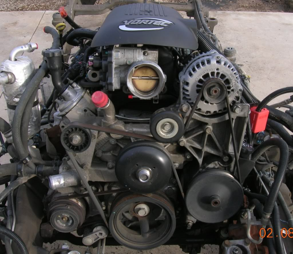 1200 48l Vortec Comes With Wiring Harness Ecu Alternator