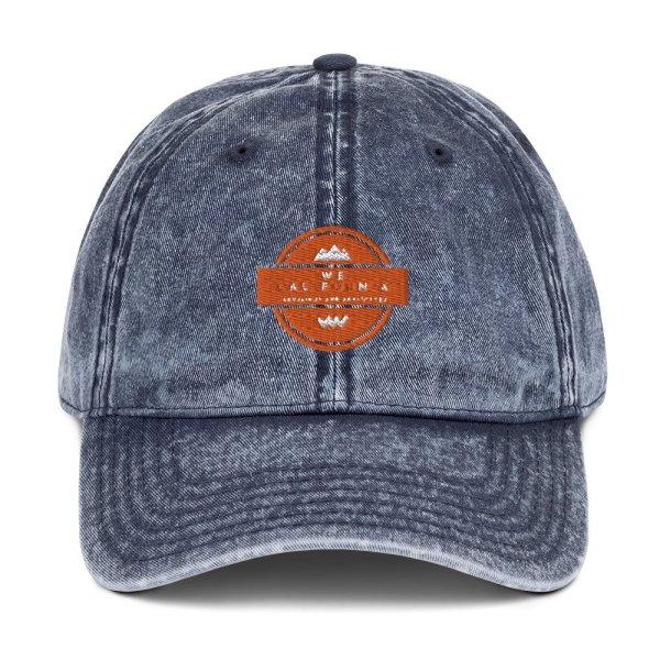 Vintage Cotton Twill Cap 1