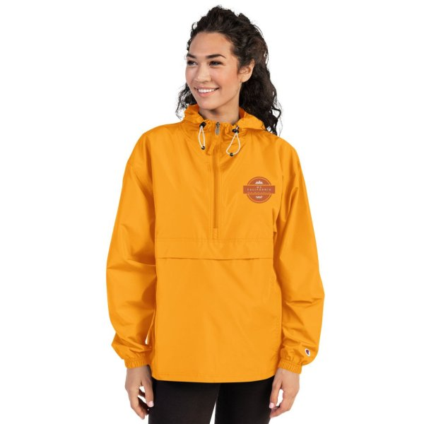 Embroidered Champion Packable Jacket 8