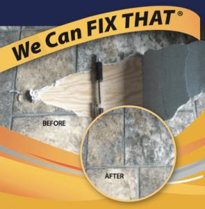 Vinyl Flooring Repair