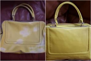 Before & After Leather Bag - Leather Cleaning & Furniture Care Services
