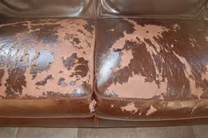Peeling Leather Cushion
