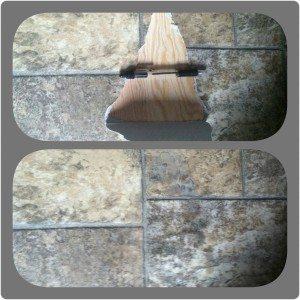 Linoleum floors repairs