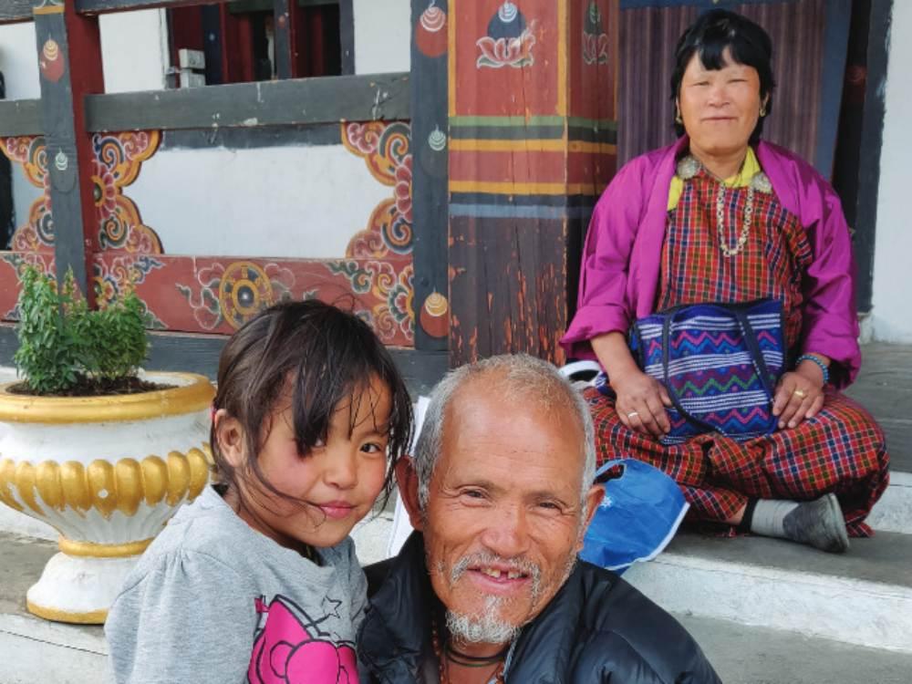 Bhutanese Locals