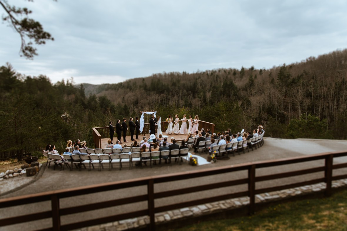 Red River Gorge Wedding Cliffview Resort