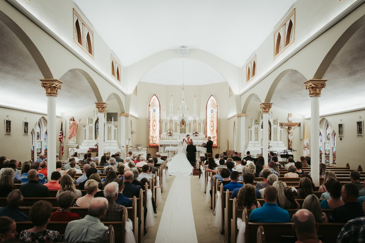 St. Martin of Tours Catholic Church Wedding