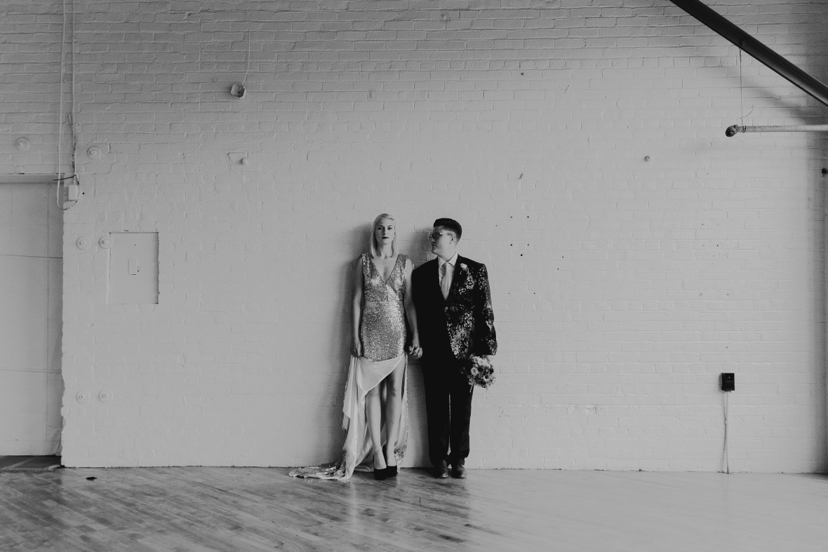 The Pointe Butchertown Louisville Wedding Photography Same Sex Couple