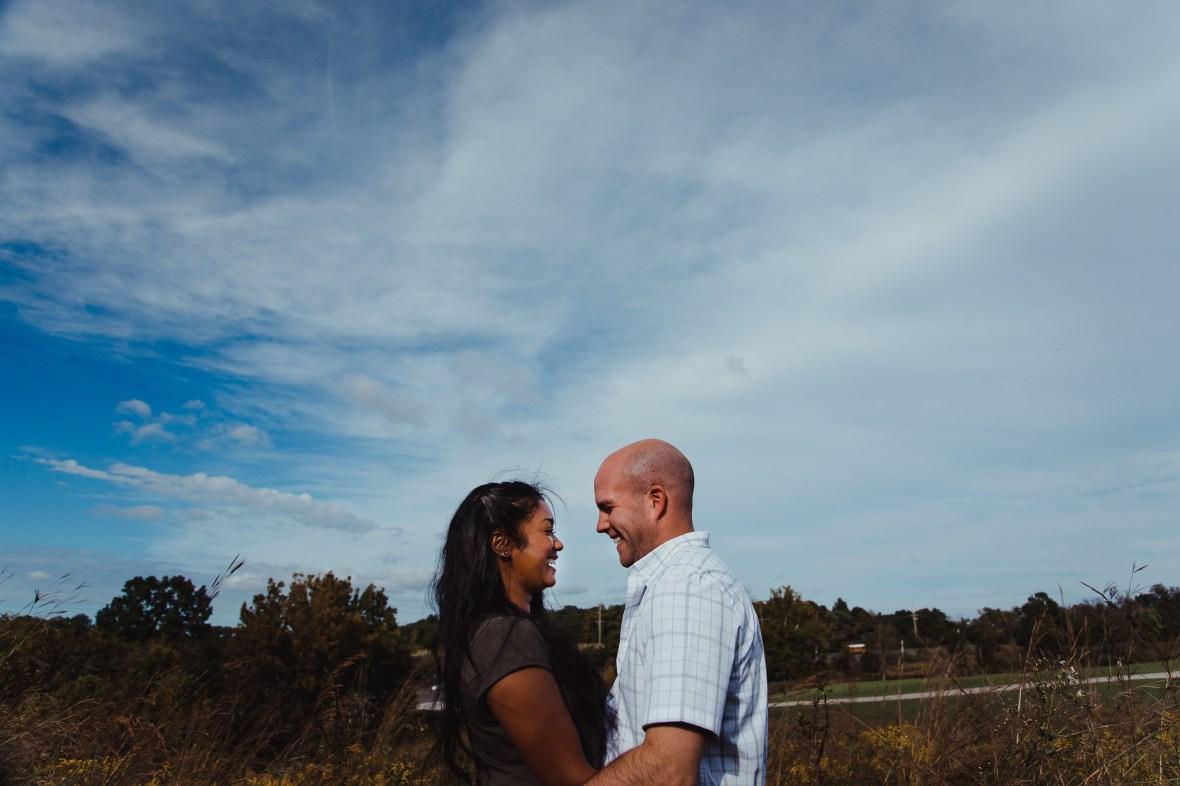 Beckley Creek Park Engagement Photos