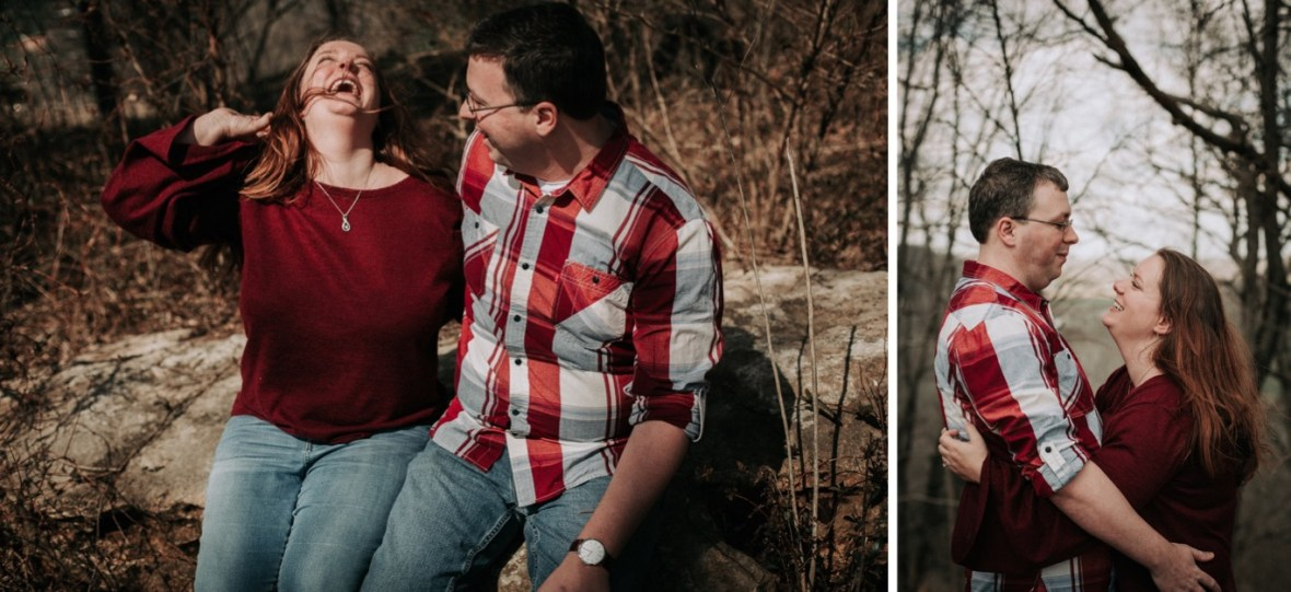 32_WCTM5657ab_WCTM5628ab_Woodsy_Rustic_Floyds_Park_Engagement_Broad_Parklands_Fork_Photos_of_Run_Louisville_Kentucky