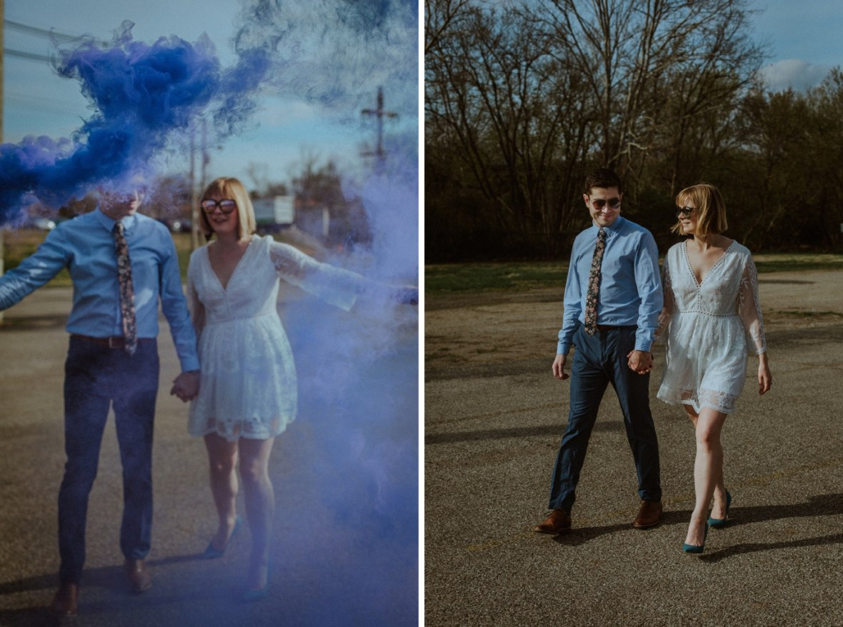 26_WTCM9975ab_WTCM9931ab_Louisville_Center_Photos_Engagement_Kentucky_Smoke_Art_Bombs_Urban_Mellwood