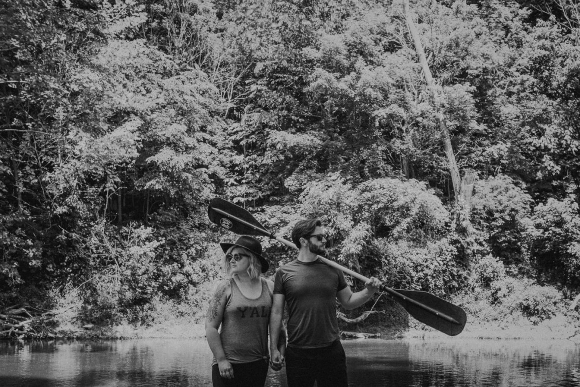 16_WCTM1538abwb_Photos_Engagement_Canoes_Southern_Indiana_River_Blue_Country_Cave_Kayaking