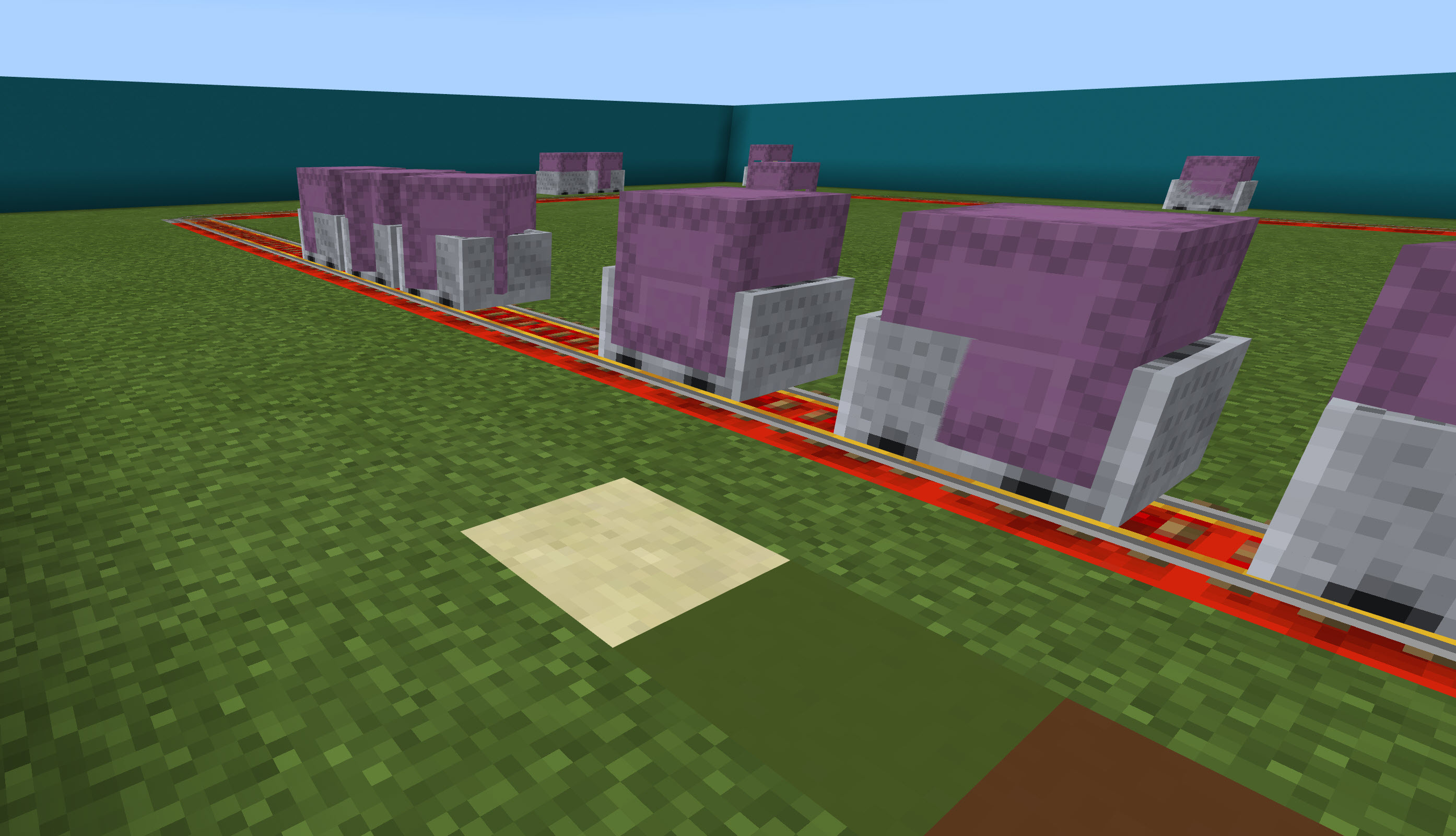 Riding the Rail with MakeCode for Minecraft | We Code MakeCode