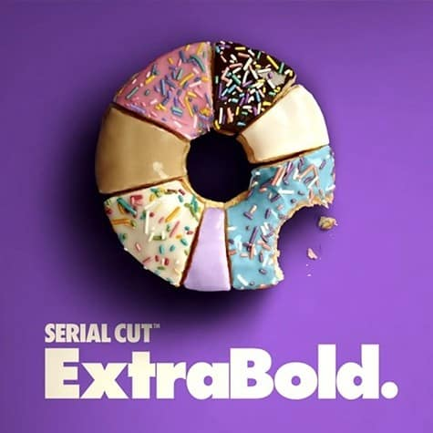 Serial Cut Extrabold