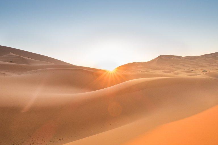 Amanecer en Merzouga - Sahara